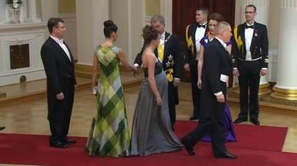 Puku kättelee presidenttiä... (Yle Areena)